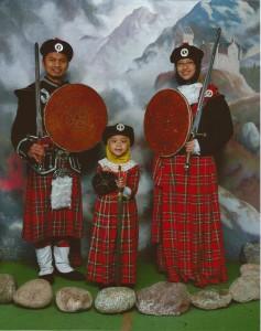 Edinburgh - Fam Photo 1