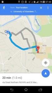 Flat to Aberdeen Uni